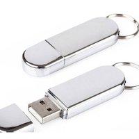 Whole sale 1GB/2GB/4GB/8GB/16GB OEM LOGO Metal USB Flash Drive