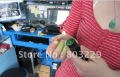 free shipping cost! 3000 MW focus green laser pen; Can burn matches; Send charger 16340