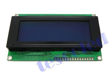 Wholesale 1pc, 20x4 LCD modules with LED blue backlight white character
