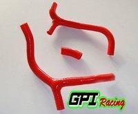 RED for HONDA CRF450 CRF 450 09 10 2009 2010 Y KIT dirt bike motocross silicone radiator hose PIPE