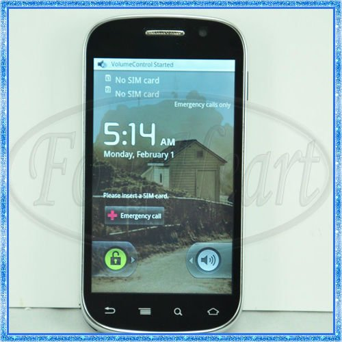 Quad Band Android 2.2 Smart Cell Phone A1000+ 4&#39;&#39; Touch Capacitive Screen Dual SIM With WIFI TV GPS Bluetooth Unlock MobilePhone(China (Mainland))