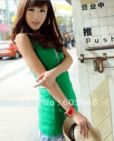 free shipping 2011 new women's fashion Long T-shirt unlined upper garment clothing
