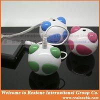 Free Shipping Green Speaker Mini Speaker Panda carton lovely speaker