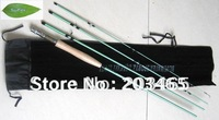 Free shipping Blue water fly rod R1 C.W.(5#), the length is  9.0' *4 section
