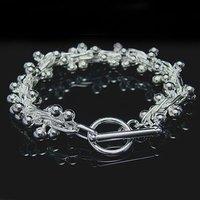 Wholesale silver Bracelet, silver jewelry Bracelet / silver Bracelet free shipping LKB164