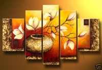 Oil painting on canvas modern landscape painting 100% handmade original directly from artist  Art handmade abstract YP292