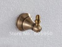 Free Shipping - Wall Mounted Single Antique Bronze Bathroom Robe Hook - Wholesale (1405)