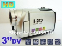 "3.0"" LCD 16.0 MP Digital Video Camcorder Camera DV SILVER"