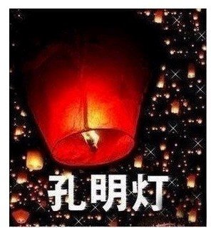 30pcs Sky Lanterns, Wishing Lamp SKY CHINESE LANTERNS BIRTHDAY WEDDING PARTY(China (Mainland))