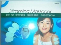 free shipping Slimming Massager Pulse Muscle Pain Relief Fat Burn New Wholesale and Freeshipping 100 pcs