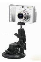 free shipping Black Universal Car Window Suction Camera Mount Tripod Holder wholesale