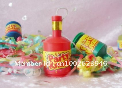 Free shipping!! Party popper,confetti/streamer,5.5*2.5cm,for Christmas,Birthday,Wedding,Entertainment Party.Wholesale(China (Mainland))