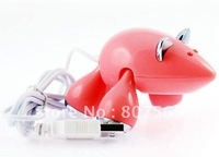 Pink High Speed 4 Port USB 2.0 Hub For PC Laptop Free shipping