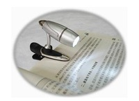 wholesale new arrival,bullet light,clip book lamp,reading book light,tablet laptop led lamp notebook fishing watch,free shipping