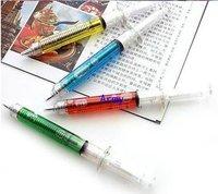 500pcs/lot Hotsale! New syringe pen/Ball pen/ Fashion pen