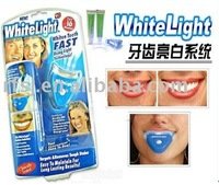 Free Shipping Teeth whitening light, tooth whitening kit, teeth white light, blister package min 1pc