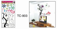 Free shipping,DIY tree wallpaper,Fashion Children room sticker,mix items, 100pcs/lot,TC903