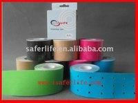 With holes wave Elastic sports kinesiology tape Kinesio tex tape