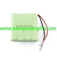 700mAh 4.8V AAA Ni-MH Rechargeable Battery Set