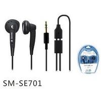 high quality hot sales Senmai SM-SE701 earbud headphones with microphone 1pcs