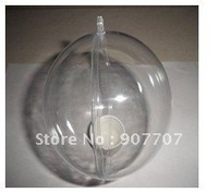 New Fancy Plastic Bauble 7CM  With Free Shipping