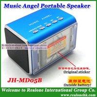Free Shipping Radio Speaker Portable FM speaker Mobile portable speaker Phone mini speaker USB speaker for computer Blue speaker