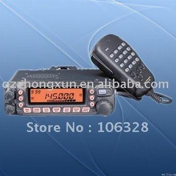 Free shipping  VHF/UHF dual band ham mobile walkie talkie YAESU FT_7800R