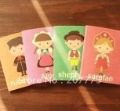 Cute stationery, cartoon characters, pocket book, notebook, notepad(20pieces/lot) EMS 45%discount