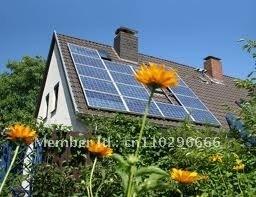 195W high efficiency mono solar panels