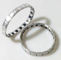 Power Stainless Steel Pure Germanium Bracelet Balance Energy 50pcs/lot