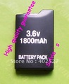 Free shipping wholesale 10PCS/LOT New 1800mAh Battery For PSP 1000 1001 Series Battery US