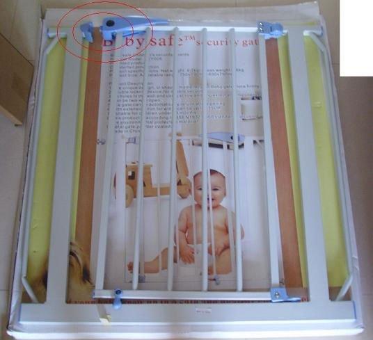 Perto expansível pet bebê portão de segurança cão Auto(China (Mainland))