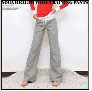 50PCS/LOT Lady Yoga Sport Pants Casual / Fitness Slim Pants Yoga Wear Free Shipping
