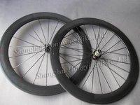 carbon wheels 60mm tubular,racing bicycle wheelset 700C