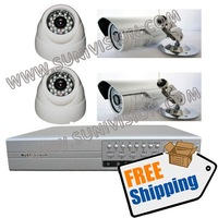 4CH H.264 network DVR kit