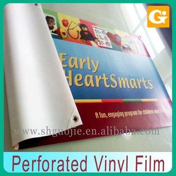 Perforated Vinyl Film