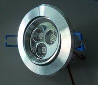 3*1W LED ceiling light,45mil epistar led chip used(100-100lm/W)