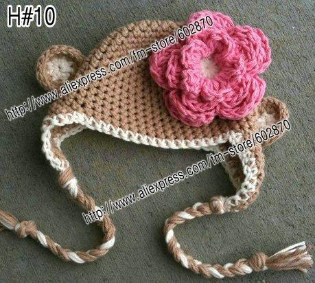 Crochet Baby Beanie with Ears - Crochet Bear Ears - YouTube