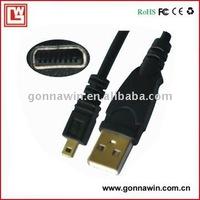 free shipping/Digital Camera Cable for Panasonic DMC-FX50 LS2 LS60 LS70 LS75