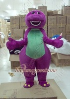 The Brand New Purple Barney Mascot Costume Adult Size Fancy Dress Party Outfit Free S/H
