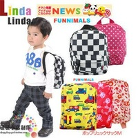 Wholesale-The pattern design of classic double shoulder pack/lovely backpack/bag/double shoulder pack 4styles