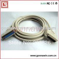 Free shipping db25 Pararell printer cable