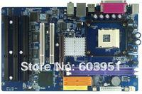 IMI845GV ATX Motherboard socket 478 with three ISA slots ,2COM port FSB 533MHz  atx mainboard