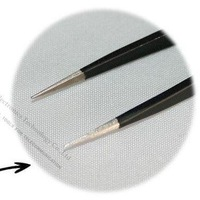 Wholesale High quality Carbon Fiber Tweezer, Brand BAKU BK-11ESD,Made of stainless steel