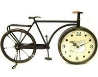 Garden Iron bike clock, super cute little table clock, small clock Free Shipping