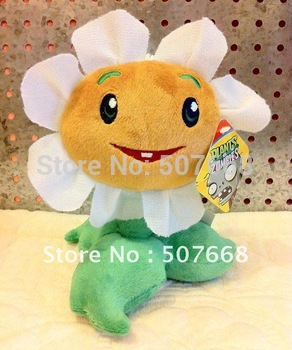 New Arrival Plush Soft Toys Plants vs Zombies PVZ Toy 14CM-19CM 60pcs/lot Free Shipping
