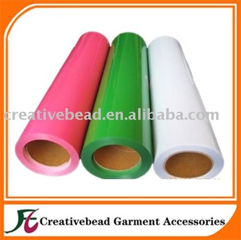 free shipping PU Heat transfer film vinyl