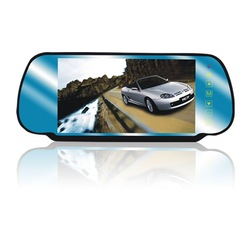 "Super selling 7"" TFT LCD Car Mirror Monitor with touch button ( NC-705H)(China (Mainland))"