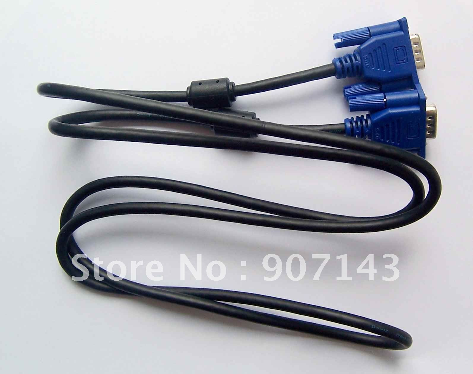 5ft VGA DB15 Monitor Cable + Free shipping(China (Mainland))
