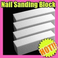 Nail Art Fast & Free Shipping Wholesales Price 10 x Nail Art Sanding Block File Acrylic Gel Cosmetic 147